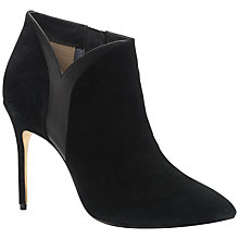 Buy Ted Baker Amdon High Heeled Stiletto Ankle Boots, Black Suede Online at johnlewis.com