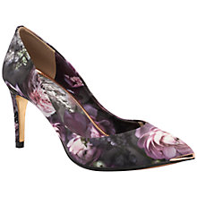 Buy Ted Baker Charmesa High Heel Court Shoe, Purple Online at johnlewis.com