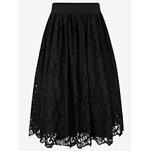 Buy Ted Baker Lace Ballerina Skirt, Black Online at johnlewis.com