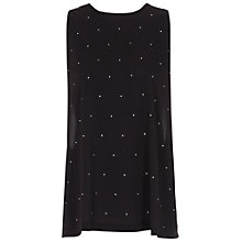 Buy French Connection Nightsky Polly Sleeveless Top, Black Online at johnlewis.com