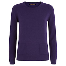Buy Jaeger Cashmere Pocket Jumper Online at johnlewis.com