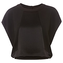 Buy Whistles Kelly Cut Out Top, Black Online at johnlewis.com