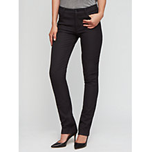 Buy Jigsaw Bi Stretch Jeans, Black Online at johnlewis.com