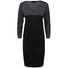 Buy Jaeger Relaxed Colour Block Wool Dress Online at johnlewis.com