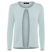 Buy Jaeger Cashmere Tipped Cardigan Online at johnlewis.com