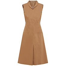 Buy Jaeger Trench Tailored Dress, Dark Camel Online at johnlewis.com