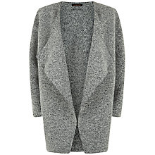 Buy Jaeger Knitted Wool Coat, Grey Melange Online at johnlewis.com