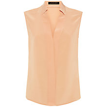 Buy Jaeger Silk Sleeveless Blouse Online at johnlewis.com