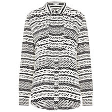 Buy Whistles Ikat Pocket Shirt, Multi Online at johnlewis.com