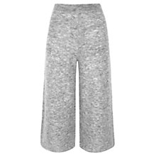 Buy Whistles Mohair Knit Culotte, Grey Online at johnlewis.com