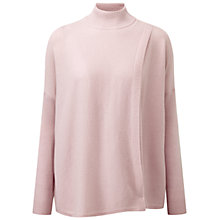 Buy Pure Collection Dalling Cashmere Wrap Jumper, Oyster Online at johnlewis.com