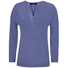 Buy Jaeger Essential Long Sleeve Silk Top Online at johnlewis.com