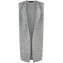 Buy Jaeger Wool Gilet, Grey Melange Online at johnlewis.com
