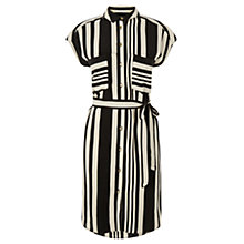 Buy Oasis Moroccain Stripe Dress, Multi Online at johnlewis.com