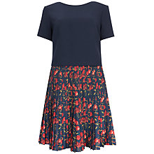 Buy Ted Baker Cherry Print Dress, Navy/Rad Online at johnlewis.com