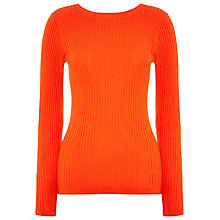 Buy Whistles Irina Ribbed Slim Jumper Online at johnlewis.com
