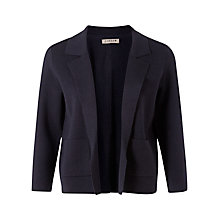Buy Jigsaw Milano Stitch Jacket, Navy Online at johnlewis.com