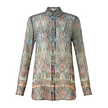 Buy Jigsaw Kaleidoscope Silk Shirt Online at johnlewis.com