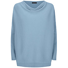 Buy Jaeger Cashmere Cowl Neck Cashmere Jumper Online at johnlewis.com