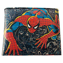 Buy Marvel Spiderman Wallet, Black Online at johnlewis.com