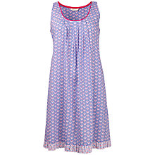 Buy Cyberjammies Loved Up Folk Geo Print Chemise, Blue Multi Online at johnlewis.com