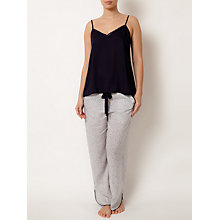 Buy Cyberjammies Peony Delight Geo Pyjama Pants, Navy/Cream Online at johnlewis.com