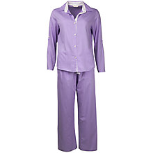 Buy Cyberjammies Aviary Stripe Pyjama Set, Blue Online at johnlewis.com