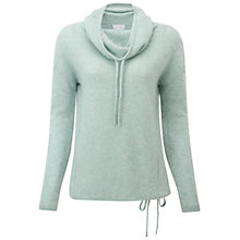 Buy Pure Collection  Bagley Gassato Cashmere Jumper, Celadon Green Online at johnlewis.com