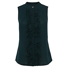 Buy Karen Millen Frill Fashion Blouse Online at johnlewis.com