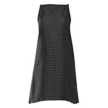Buy Max Studio Laser Jaquard Dress, Black Online at johnlewis.com