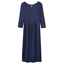 Buy Joules Annette Spot Print Dress, Navy Online at johnlewis.com