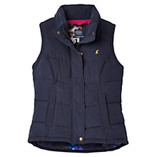 Buy Joules Higham Padded Gilet, Marine Navy Online at johnlewis.com