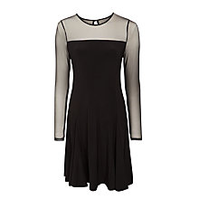 Buy Lauren Ralph Lauren Zandina Dress, Black Online at johnlewis.com