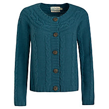 Buy Seasalt Mrs Foxcroft Cardigan, Plumage Online at johnlewis.com
