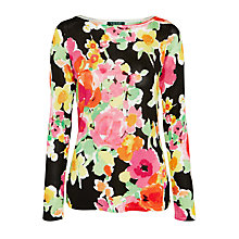Buy Lauren Ralph Lauren Matsu Tunic Top, Multi Online at johnlewis.com