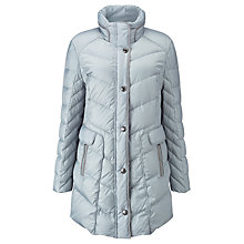 Buy Gerry Weber Quilted Coat, Blue Online at johnlewis.com