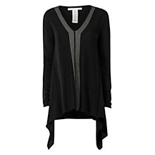 Buy Max Studio Stitch Detail Jumper, Black Online at johnlewis.com