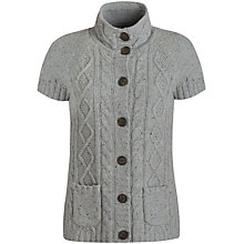Buy Seasalt Highmore Cardigan, Pewter Online at johnlewis.com