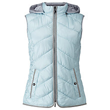 Buy Gerry Weber Hooded Quilted Jacket, Sky Online at johnlewis.com