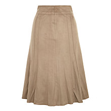 Buy Gerry Weber Faux Suede Skirt, Camel Online at johnlewis.com
