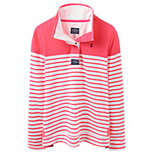 Buy Joules Cowdray Stripe Sweatshirt, Neon Candy Stripe Online at johnlewis.com