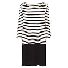 Buy Joules Taynton Stripe Jersey Dress, Cream Stripe Online at johnlewis.com