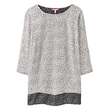 Buy Joules Andrea Spot Print Blouse, Black Spot Online at johnlewis.com