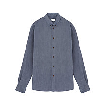 Buy Jigsaw Flannel Herringbone Shirt Online at johnlewis.com