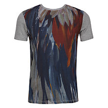 Buy Ted Baker Woodpek Jersey Top, Charcoal Online at johnlewis.com