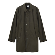 Buy Jigsaw Technical Raincoat, Forest Online at johnlewis.com