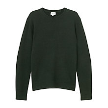 Buy Jigsaw Wool Cashmere Pique Crew Jumper Online at johnlewis.com