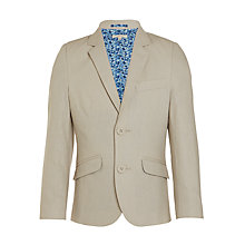Buy John Lewis Heirloom Collection Boys' Linen Cotton Jacket, Stone Online at johnlewis.com