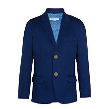 Buy John Lewis Heirloom Collection Cotton Sateen Jacket, Blue Online at johnlewis.com