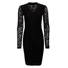 Buy Minimum Dima Lace Dress, Black Online at johnlewis.com